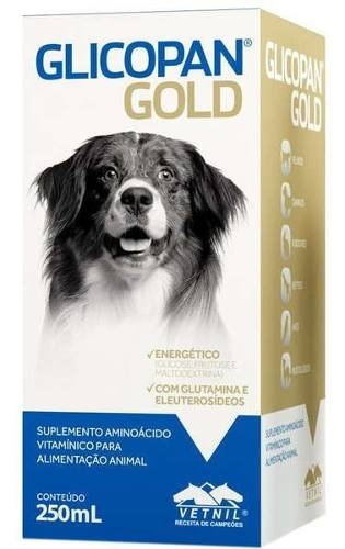 Glicopan Gold Vetnil - 250ml