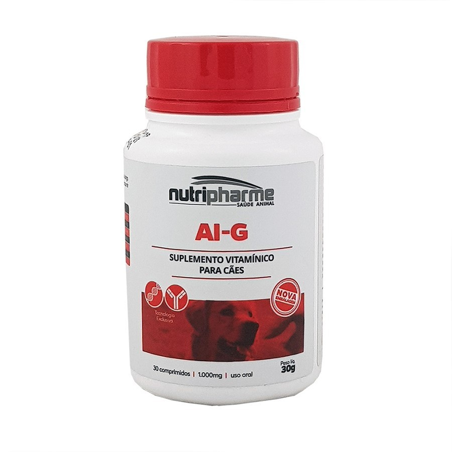Ai-G Suplemento Vitaminico Para Cães 30g Com 30comp.