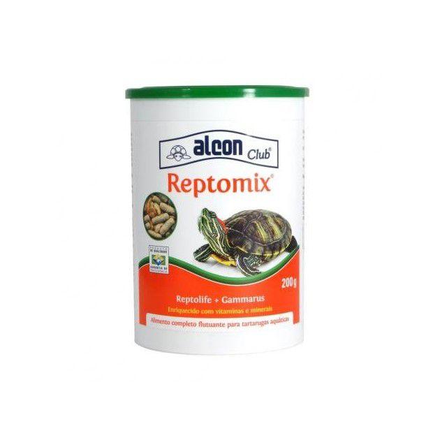 Alcon Reptomix 200g Ração + Camarão Para Tartarugas Full