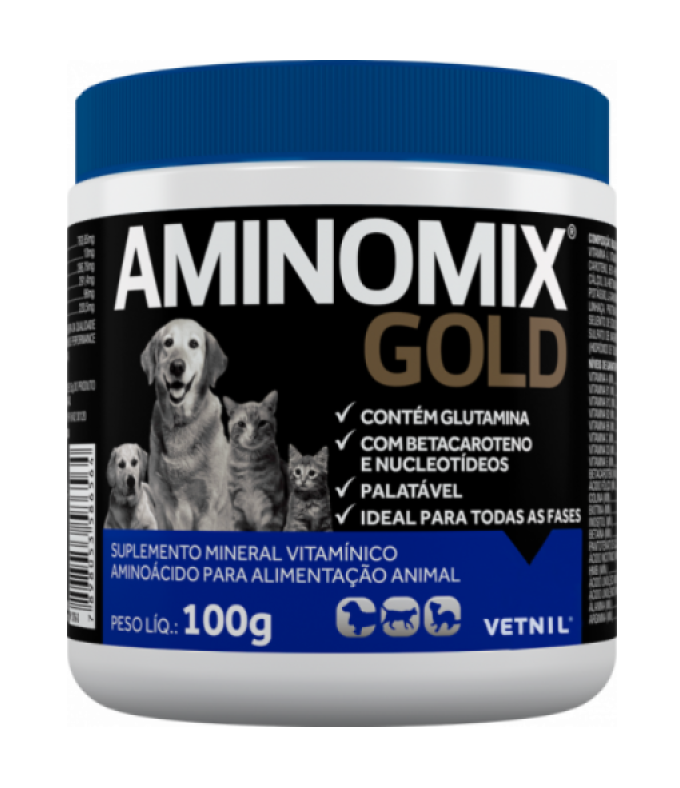 Aminomix Pet Gold Vetnil - 100g
