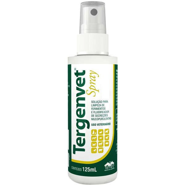 Antisséptico Tergenvet Spray Vetnil 125ml