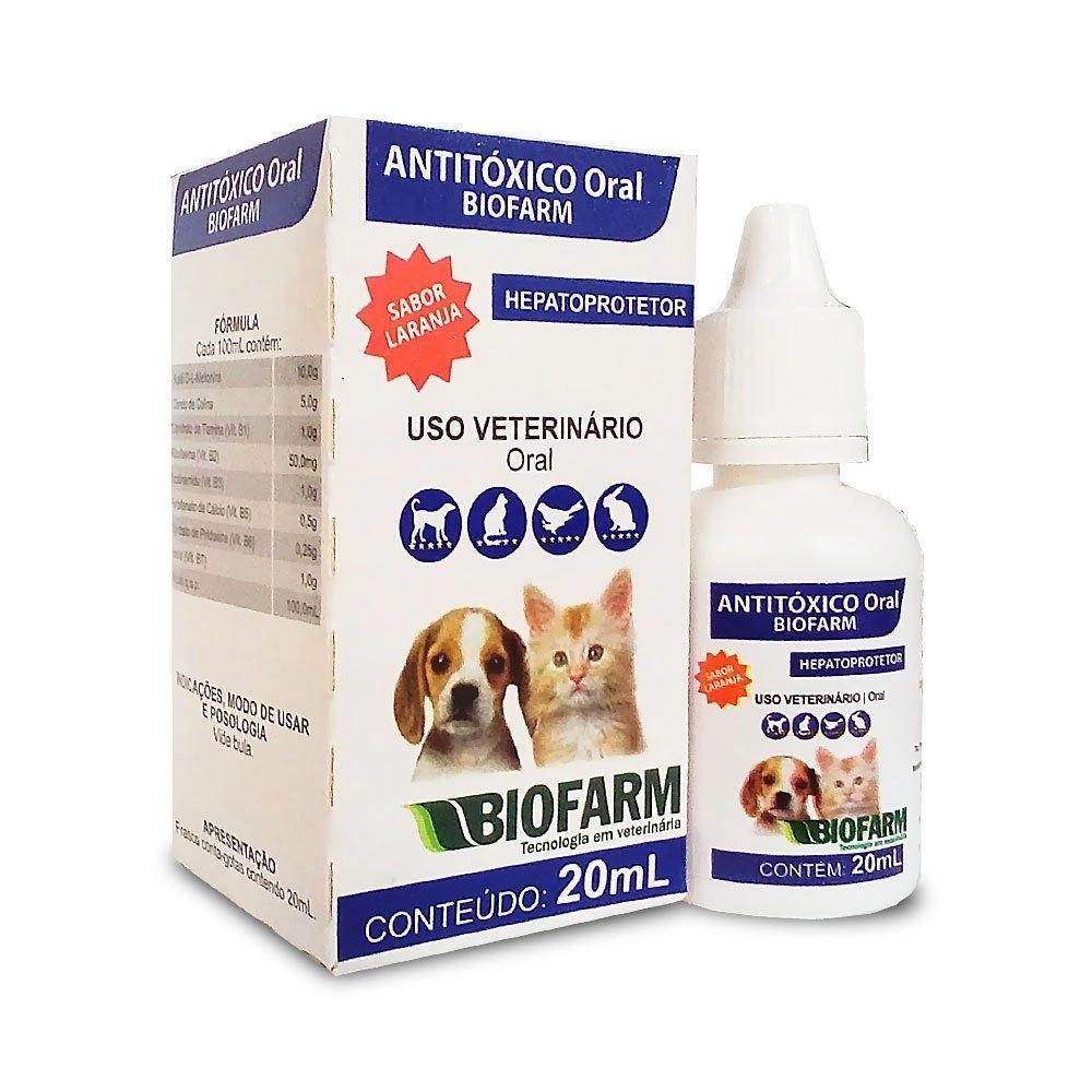 Antitóxico Oral Biofarm 20ml
