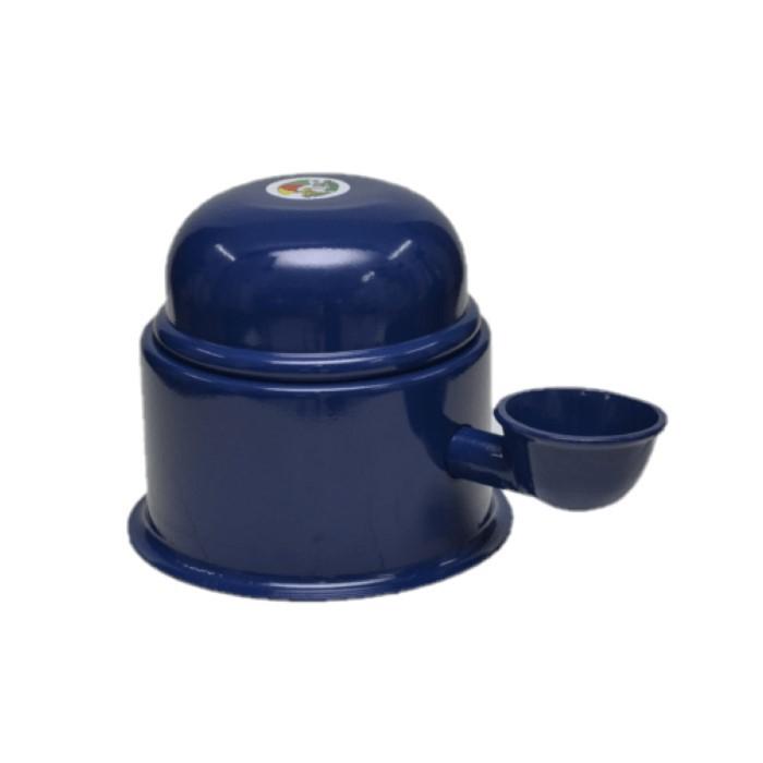 Bebebouro Vida Mansa Alumínio 0,7L Azul Escuro