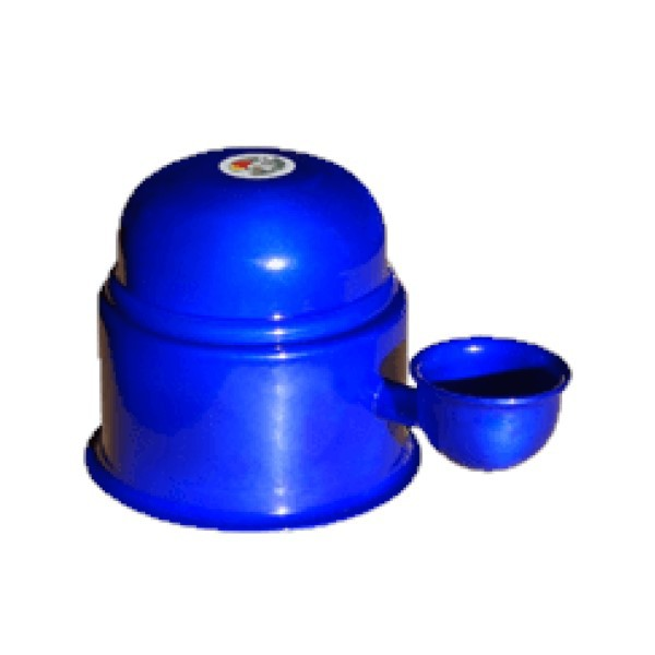 Bebebouro Vida Mansa Alumínio 0,7L Azul Metálico