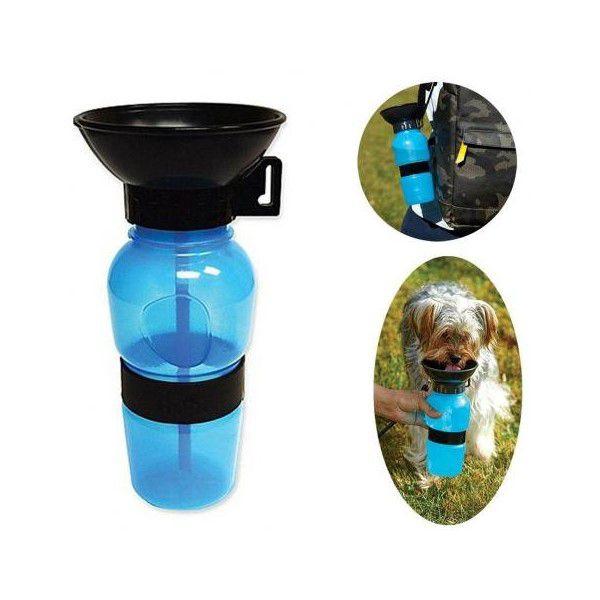 Bebedouro Aqua Dog Água Portátil Para Cães Garrafa