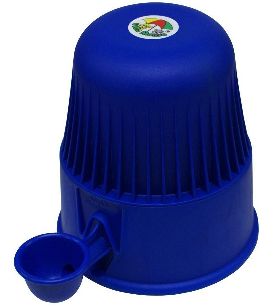 Bebedouro vida mansa Para Cães E Gatos 2 Litros Azul