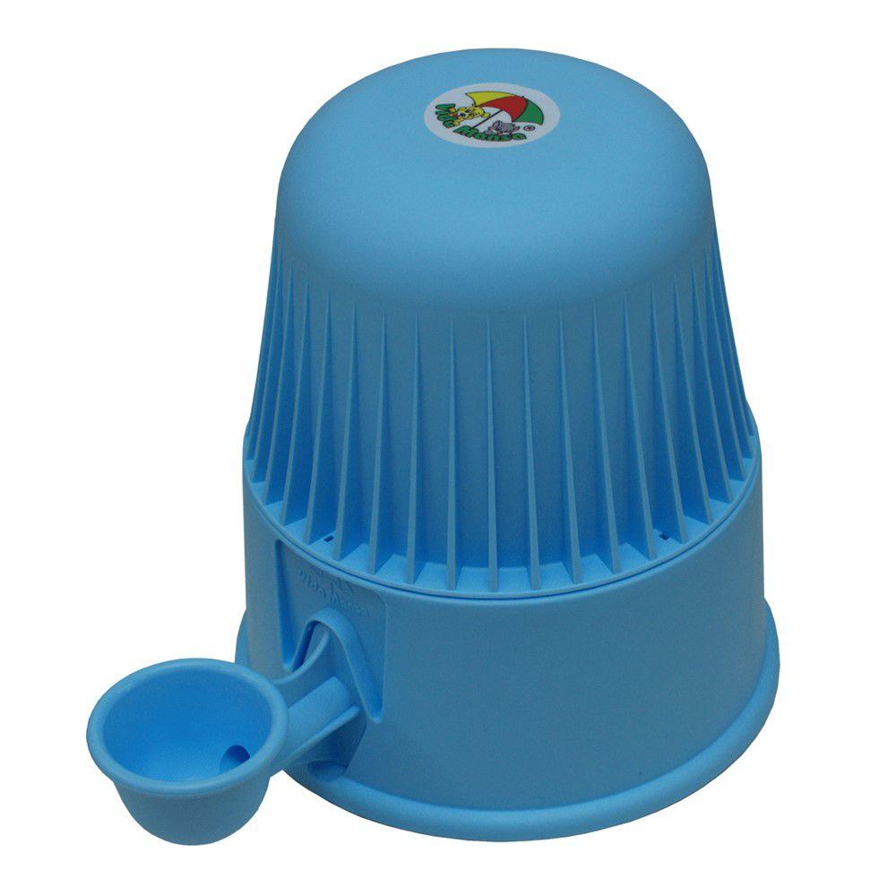 Bebedouro Para Cães E Gatos 2 Litros Azul Agua