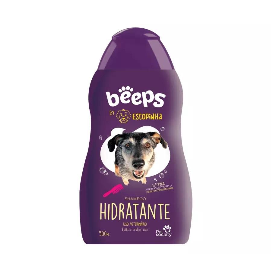 Beeps Shampoo Hidratante By Estopinha Pet Society 500ml