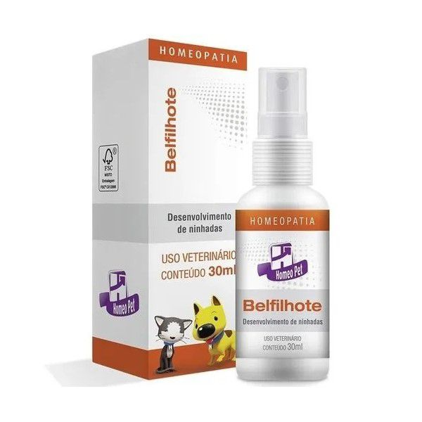 Belfilhote Homeopatia Real H Para Cães e Gatos 30ml