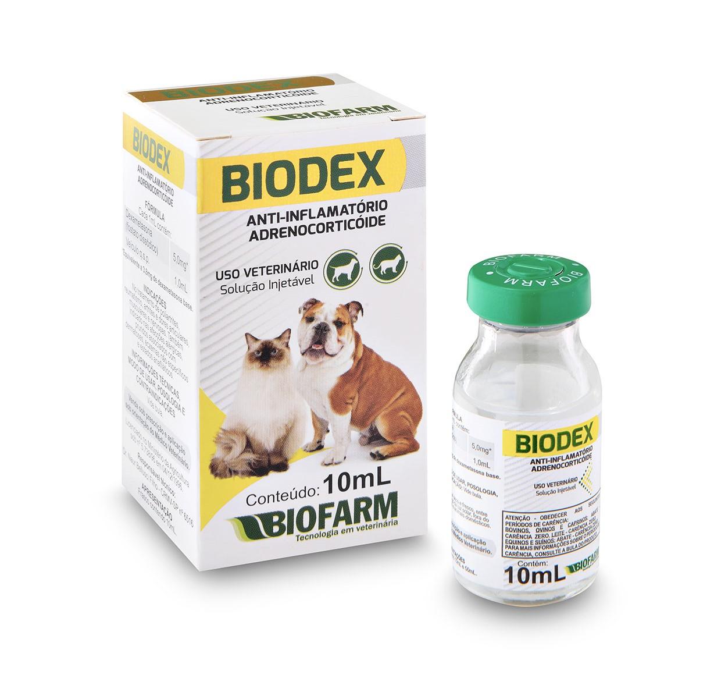 Biodex Anti-Inflamatório Injetável Biofarm 10ml