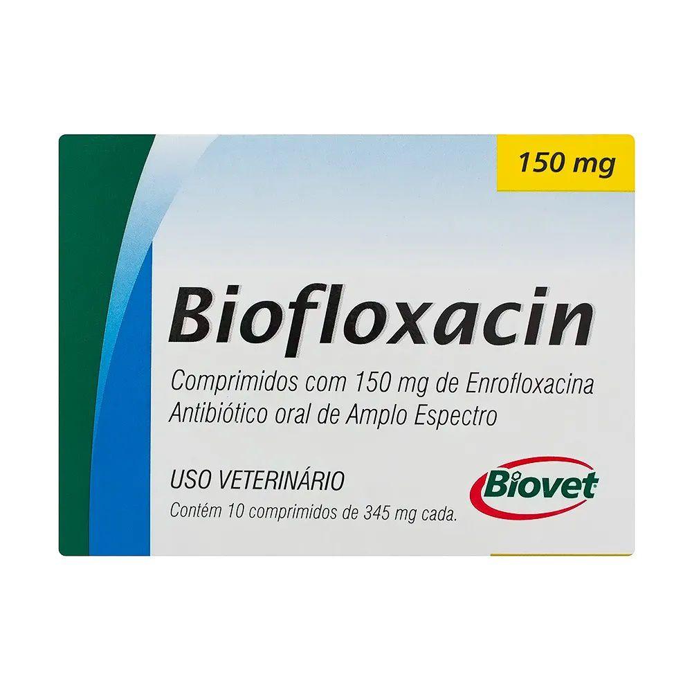 Biofloxacin 150mg Antibiótico Oral Para Cães e Gatos