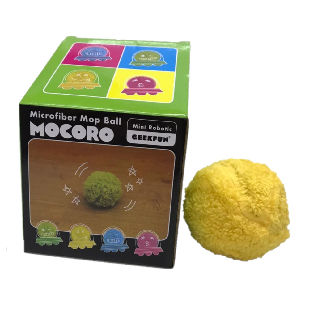 Bola Vira Vira  Microfiber Mop Ball Mocoro Mini Robotic