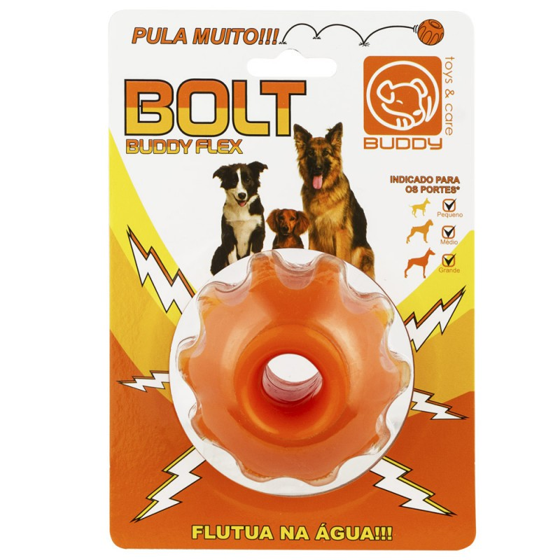 Bolt Buddy Flex Brinquedo Mordedor Para Cães