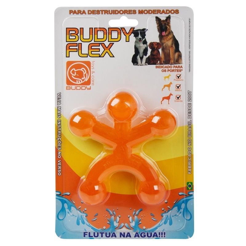 Boneco Buddy Flex Brinquedo Mordedor Para Cães