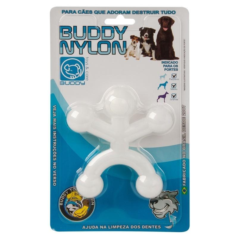 Boneco Buddy Nylon Brinquedo Mordedor Para Cães