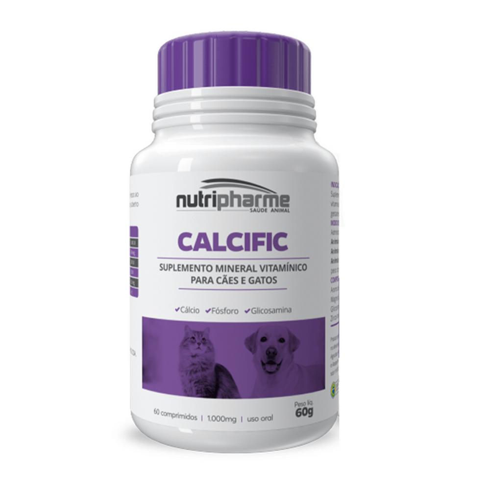 Calcific Suplemento Vitamínico 60 Comprimidos 1000mg