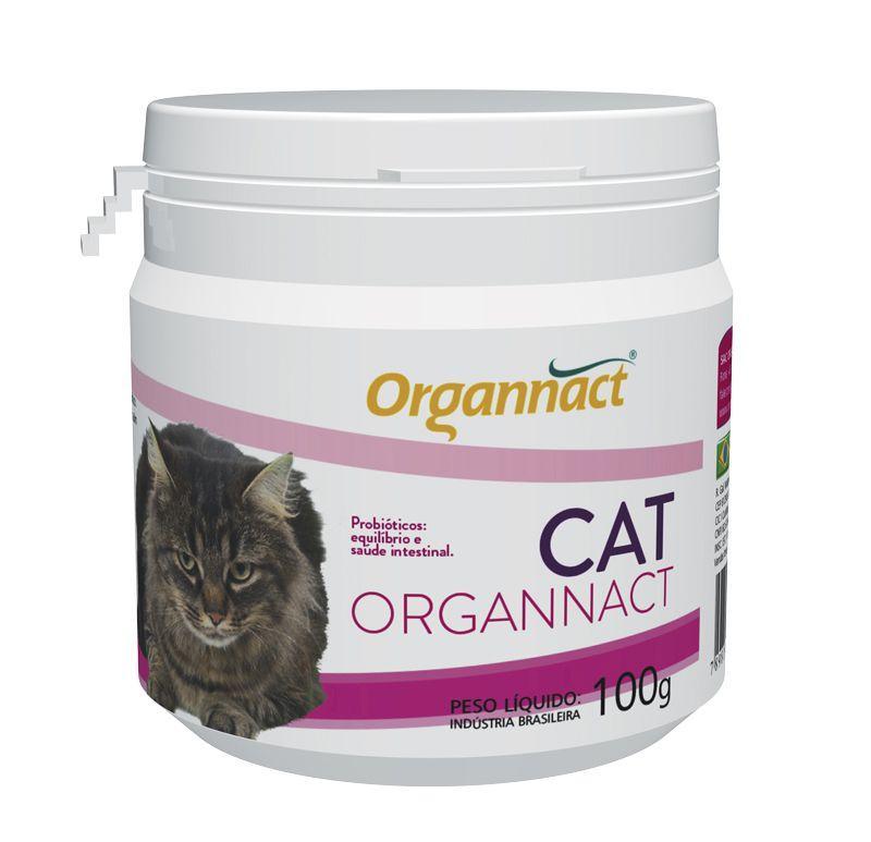 Cat Organnact Probiótico Para Gatos 100g