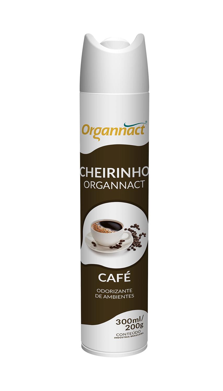 Cheirinho Organnact Café 300ml/200g