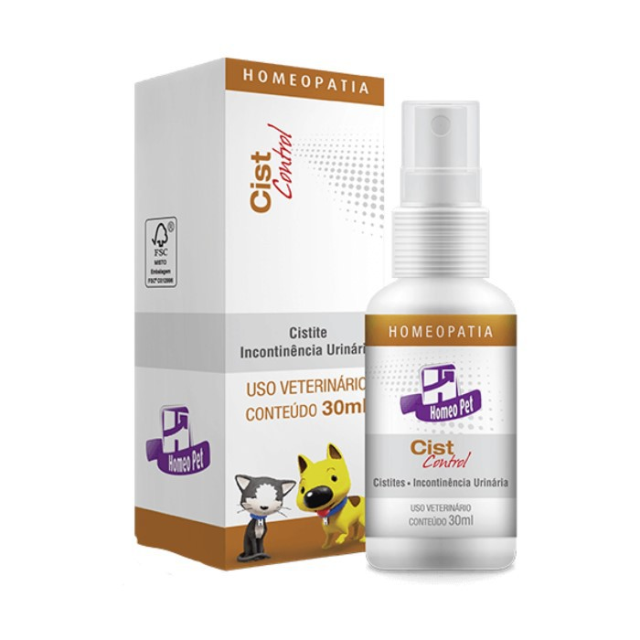 Cist Control Pet Homeopatia Real H Para Cães e Gatos 30ml