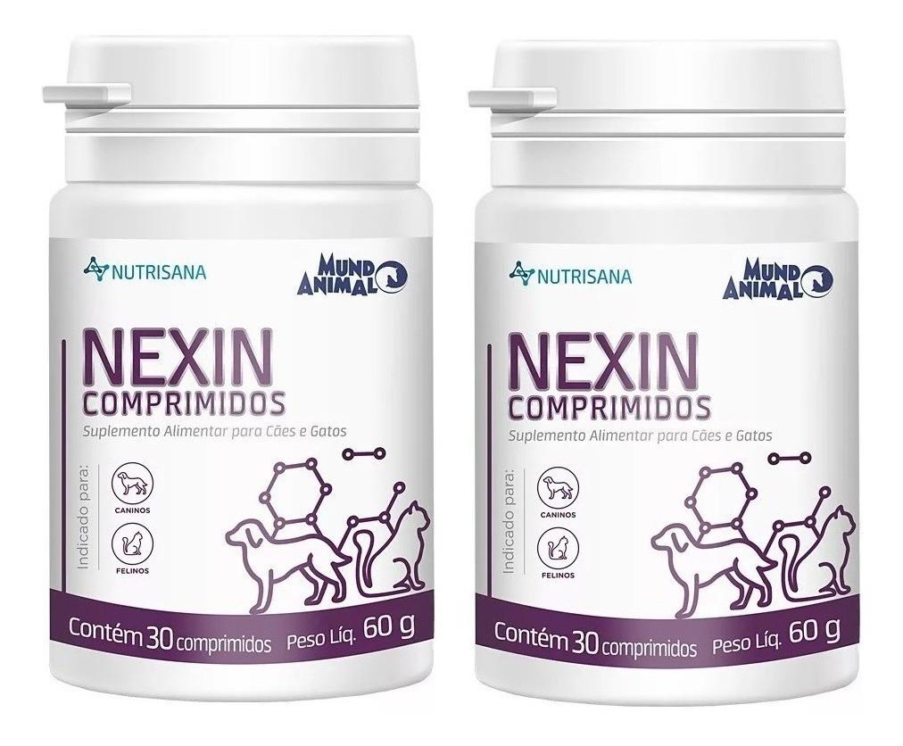 Combo 2Nexin Nutrisana Suplemento Mundo Animal 30Comprimidos 60g
