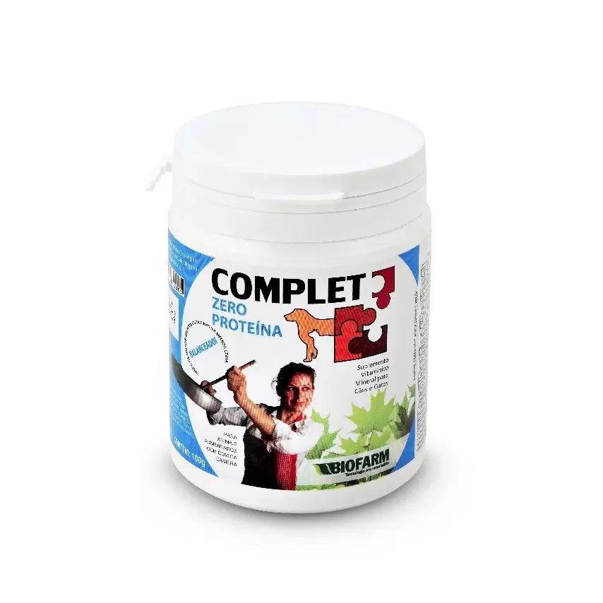Complet Zero Protéina Suplemento Biofarm 100g