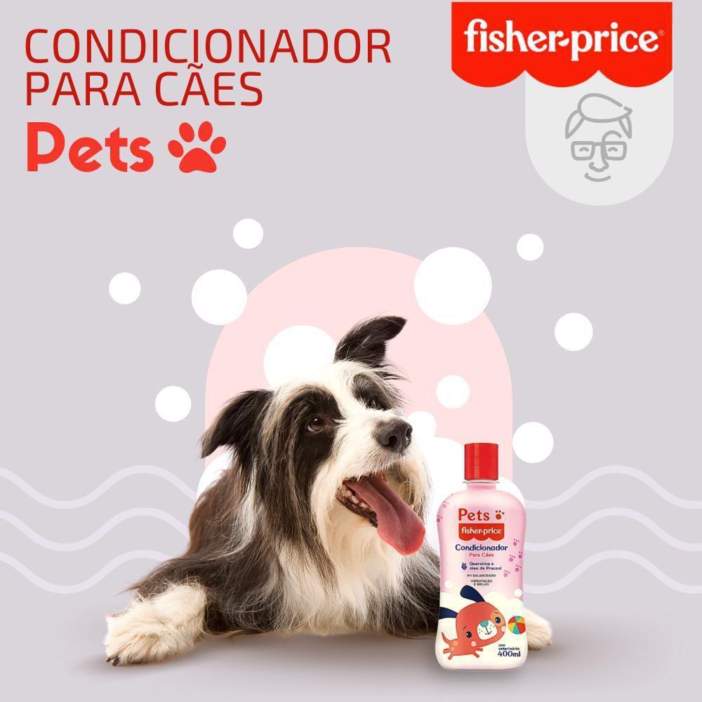 Condicionador Pets Fisher Price Para Cães - 400 Ml