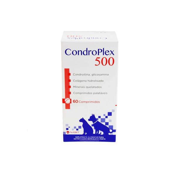 Condroplex 500 Suplemento Alimentar Avert 60 Comprimido
