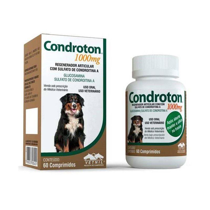 Condroton Regenerador Articular Vetnil Comprimidos 1000mg