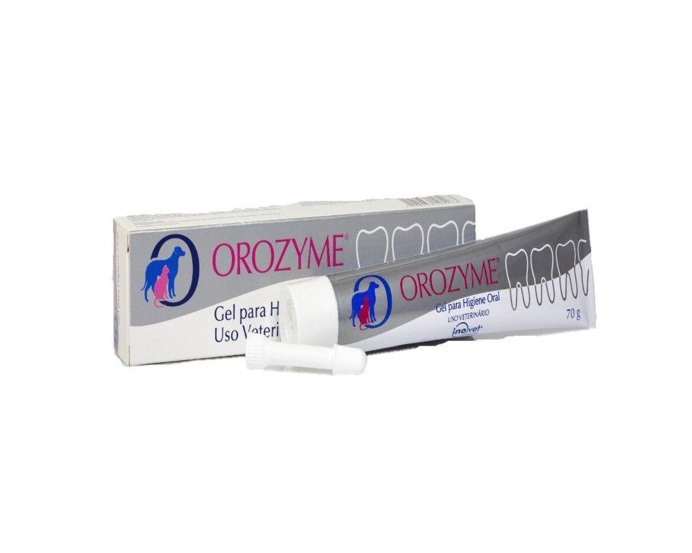 Creme Dental Para Cães E GATOS Orozyme 70g INOVET