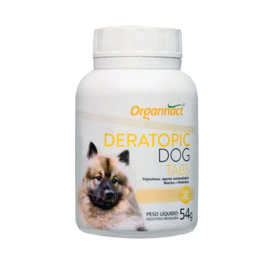 Deratopic Dog Tabs 54g Organnact Para Cães