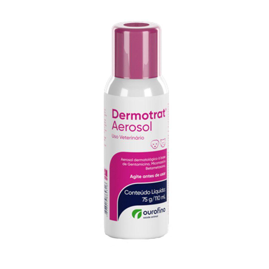 Dermotrat Aerosol Anti-Inflamatório Ourofino 75g/110ml