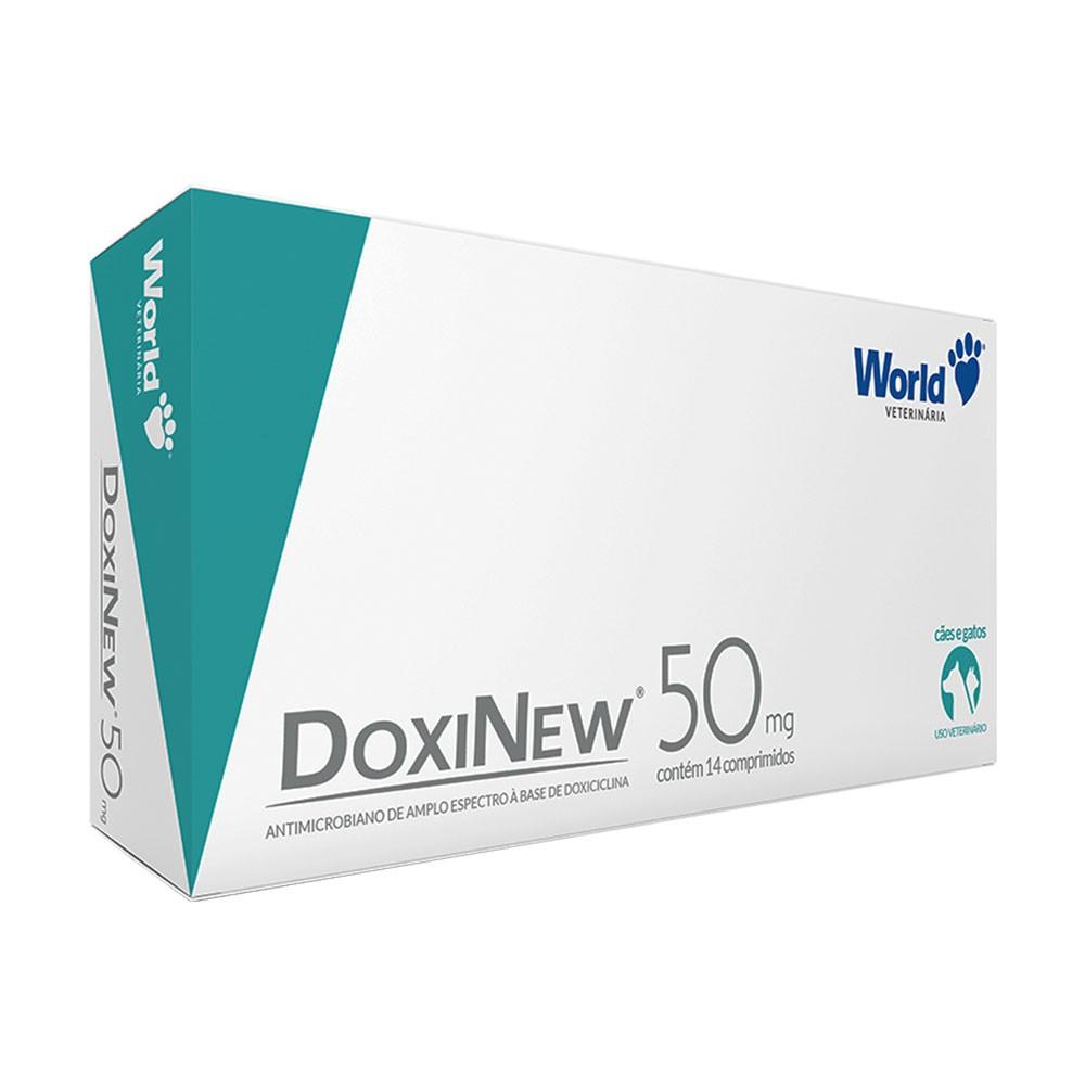 Doxinew 50mg 14 Comprimidos World Veterinária