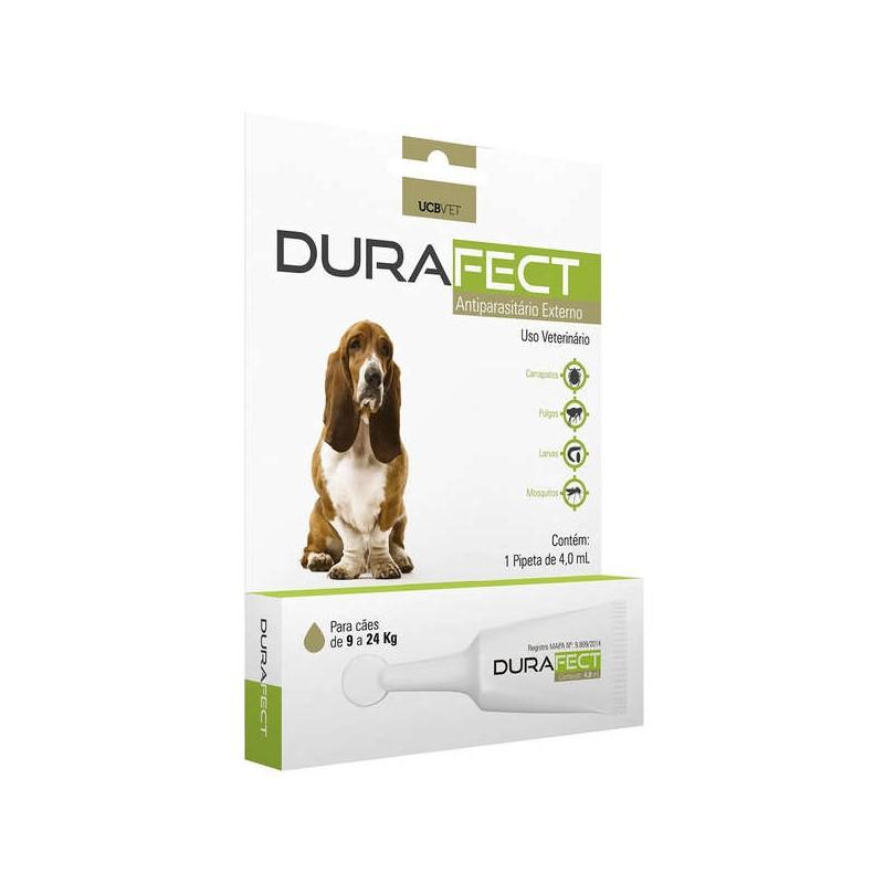 Durafect UCBVET Antipulgas Para Cães 9 a 24Kg 4,0ml