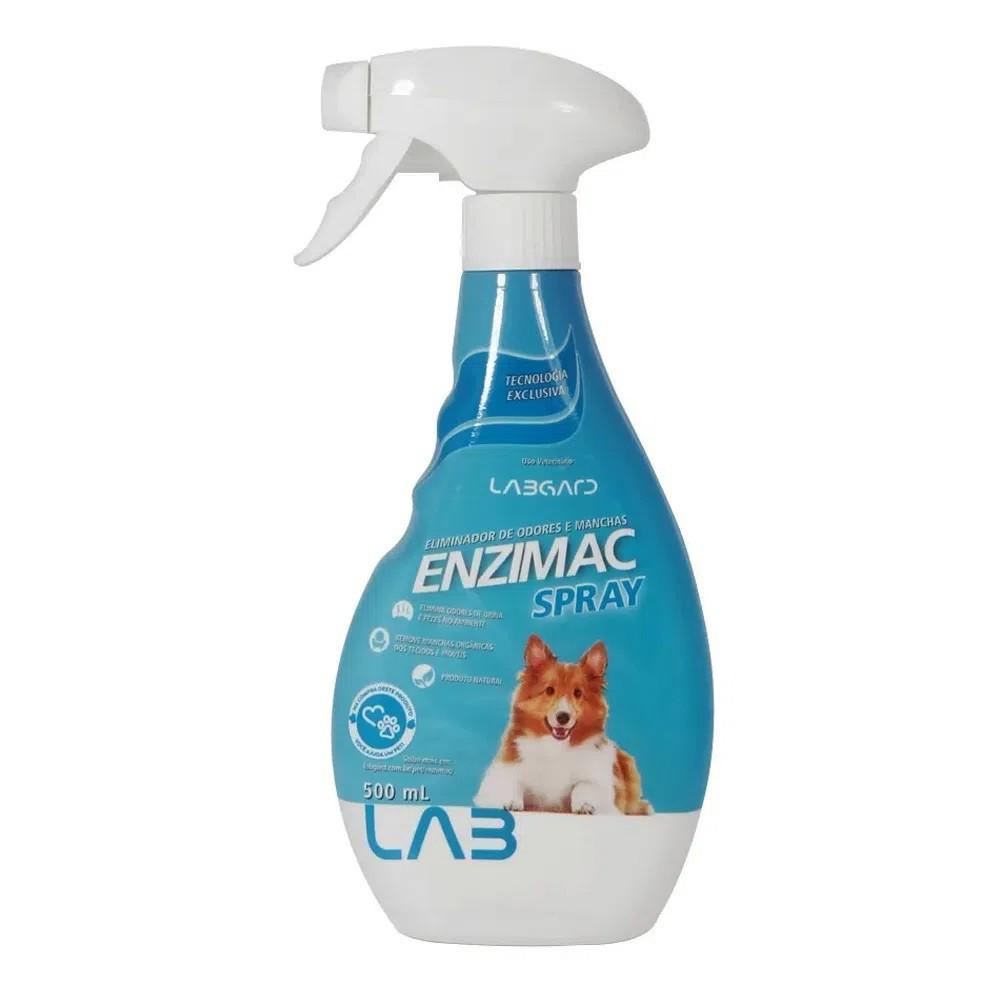 Enzimac Spray Eliminador De Odores e Manchas 500ml Labgard