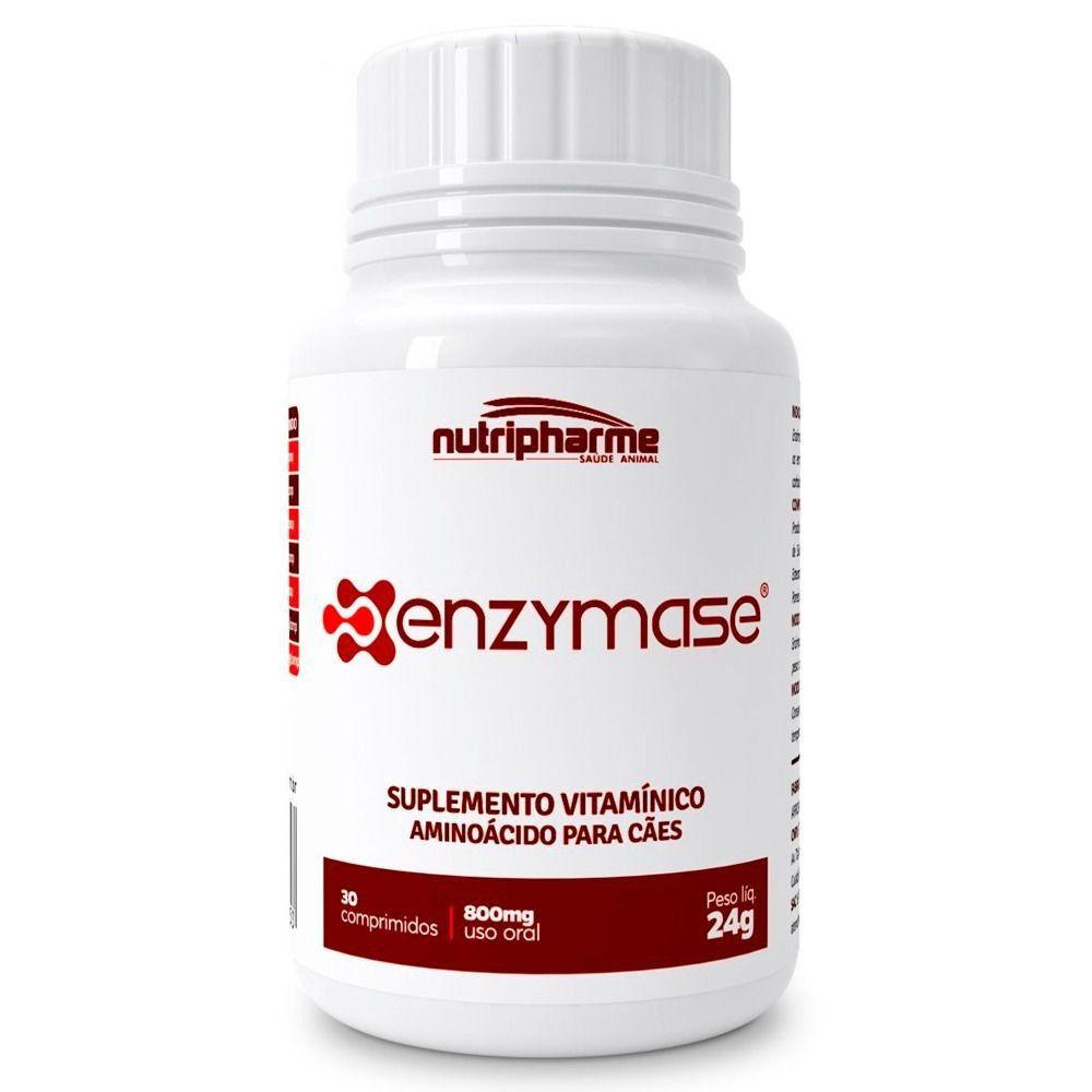 Enzymase Suplemento Vitamínico 24g 30 Comprimidos Nutripharme