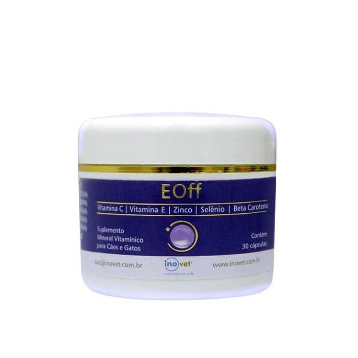 EOff Suplemento Antioxidante Inovet 30 Cápsulas