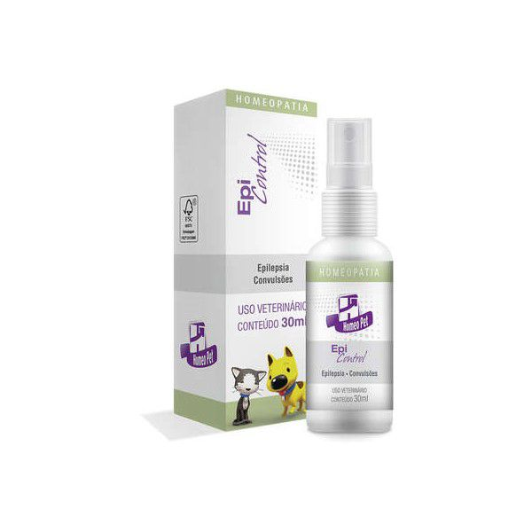Epi Control Homeopatia Real H Para Cães e Gatos 30ml