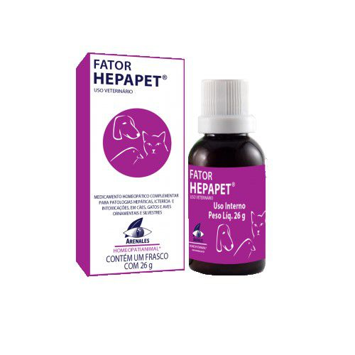 Fator Hepapet Homeopático Arenales 26g
