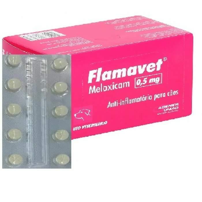 Flamavet 0,5mg 1 comprimido