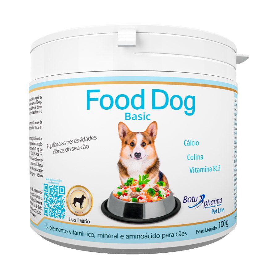 Food Dog Basic 100g Botupharma - Pet Line