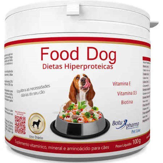 Food Dog Dietas Hiperproteicas 100 Gr - Botupharma