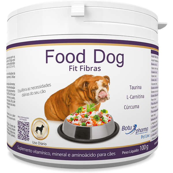 Food Dog Fit Fibras 100 G