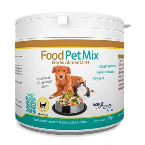Food Pet Mix Fribas Alimentares 100 Gr - Botupharma
