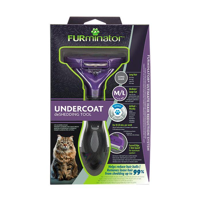 Furminator Para Gato Medium/Large Long Hair
