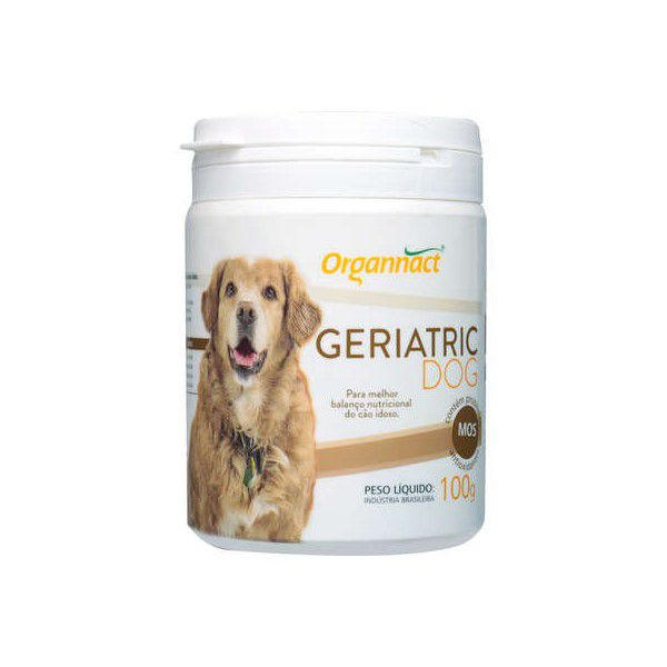 Geriatric Dog 100g Organnact Para Cães