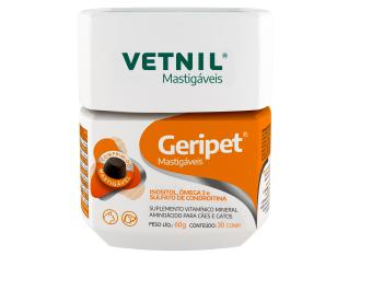 Geripet Mastigáveis Vetnil 30 Comprimidos