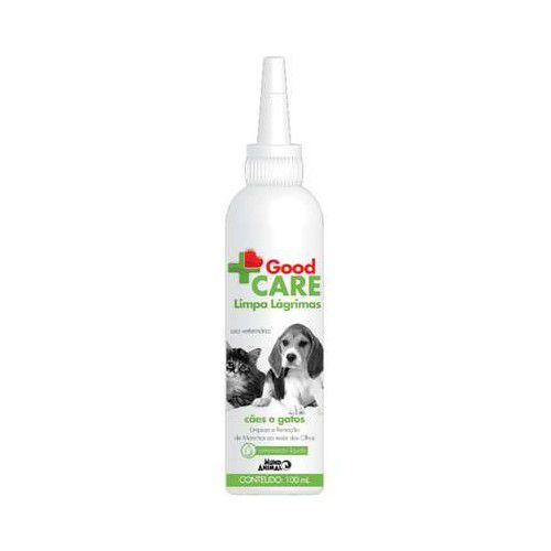 Good Care Limpa Lágrimas para Cães e Gatos 100 mL