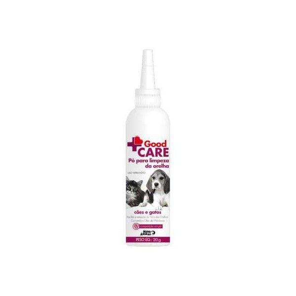 Good Care Pó Para Limpeza da Orelha Cães e Gatos Mundo Animal 20g