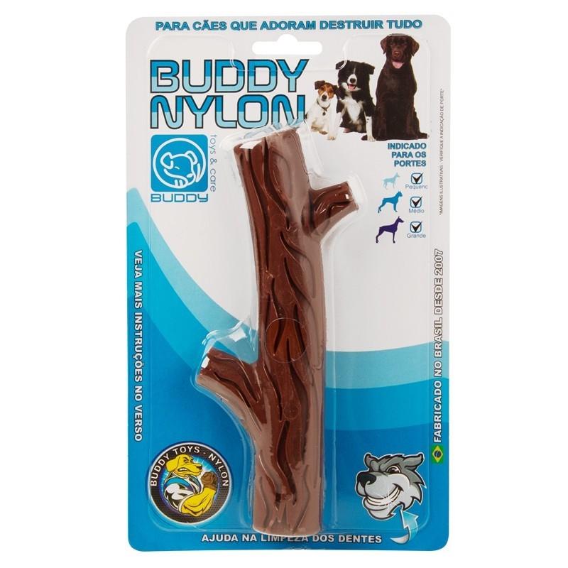 Graveto Buddy Nylon Brinquedo Mordedor Para Cães