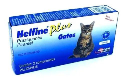 Helfine Plus Para Gatos Vermífugo Agener União
